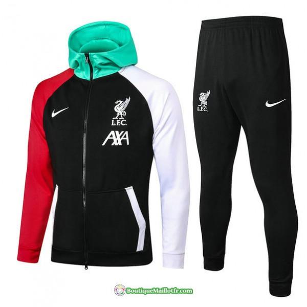 Veste Survetement Liverpool 2021 2022 à Capuche N...