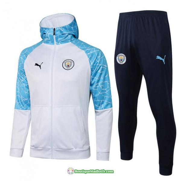 Veste Survetement Manchester City 2021 2022 A Capu...