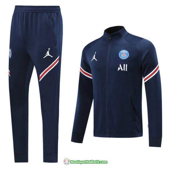 Veste Survetement Paris Saint Germain 2021 2022 Bl...