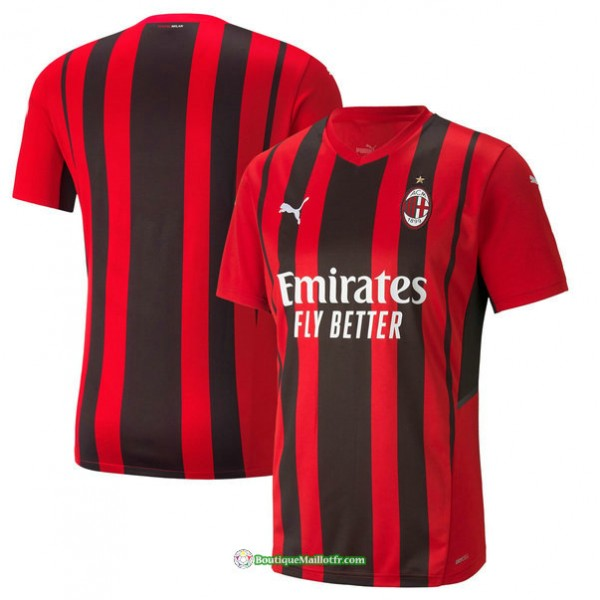 Maillot Ac Milan 2021 2022 Domicile