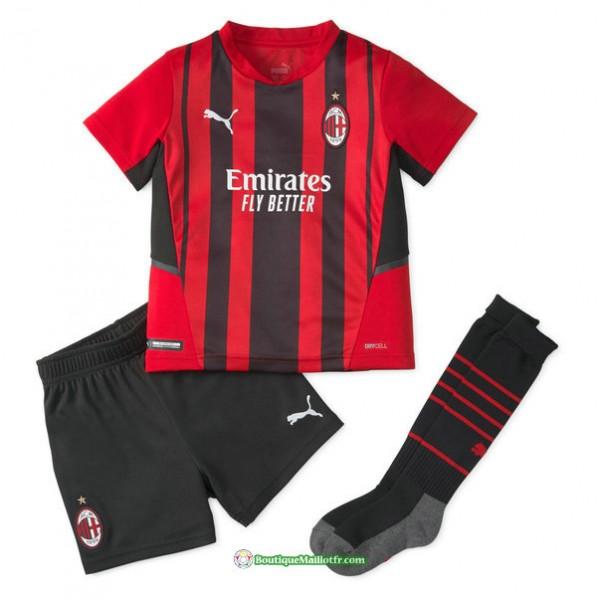 Maillot Ac Milan Enfant 2021 2022 Domicile