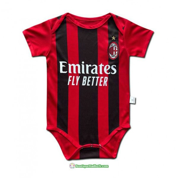 Maillot Ac Milan Baby 2021 2022 Domicile