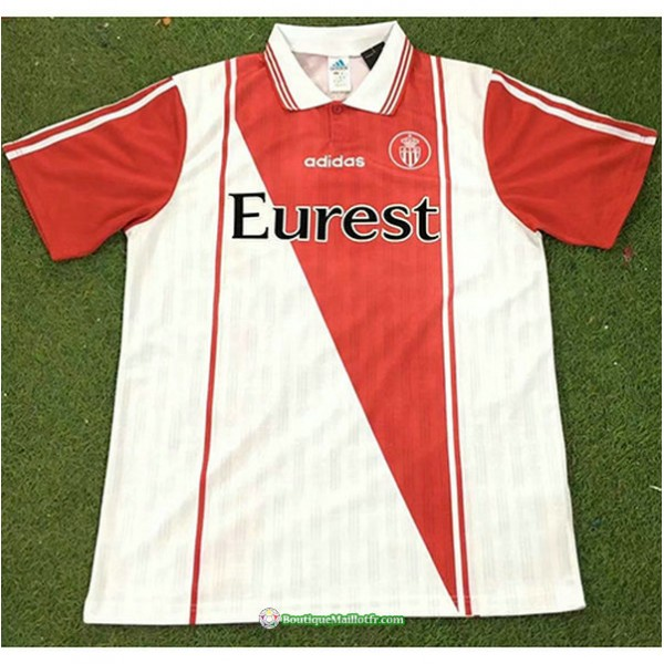 Maillot As Monaco Rétro 1996 97 Domicile