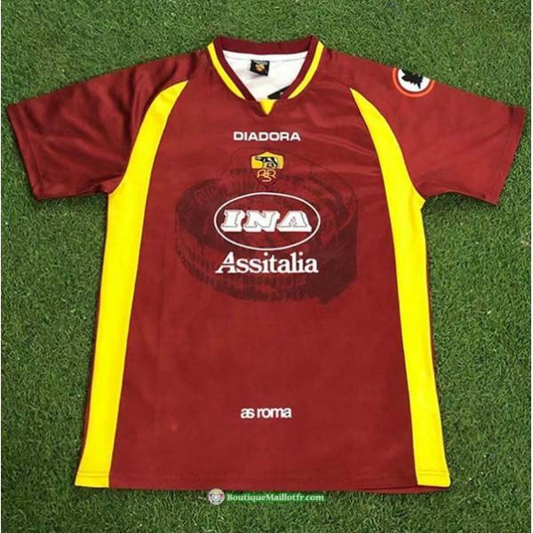 Maillot As Roma Rétro 1997 98 Domicile