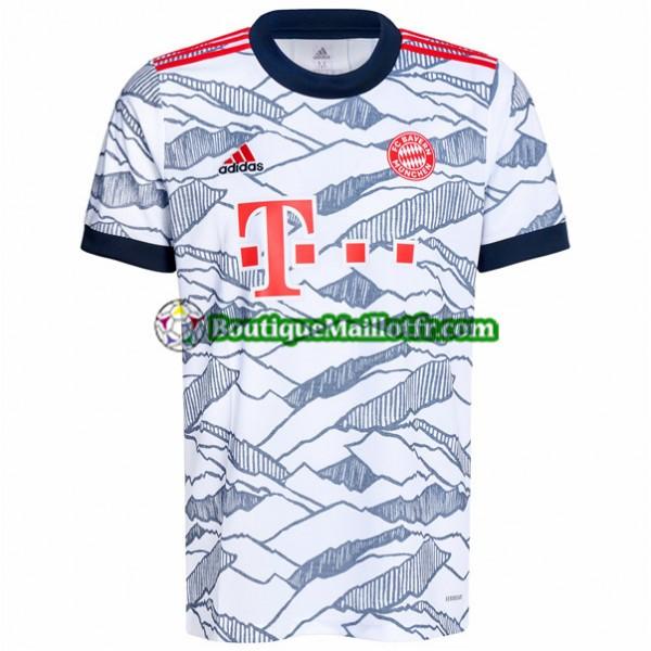 Maillot Bayern Munich 2021 2022 Third Blanc