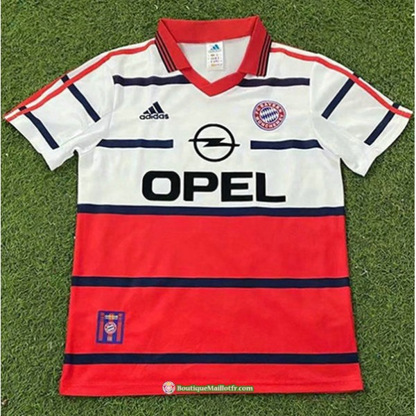 Maillot Bayern Munich Rétro 1998 00 Exterieur