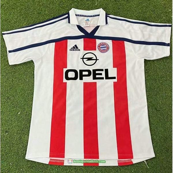 Maillot Bayern Munich Rétro 2000 01 Exterieur