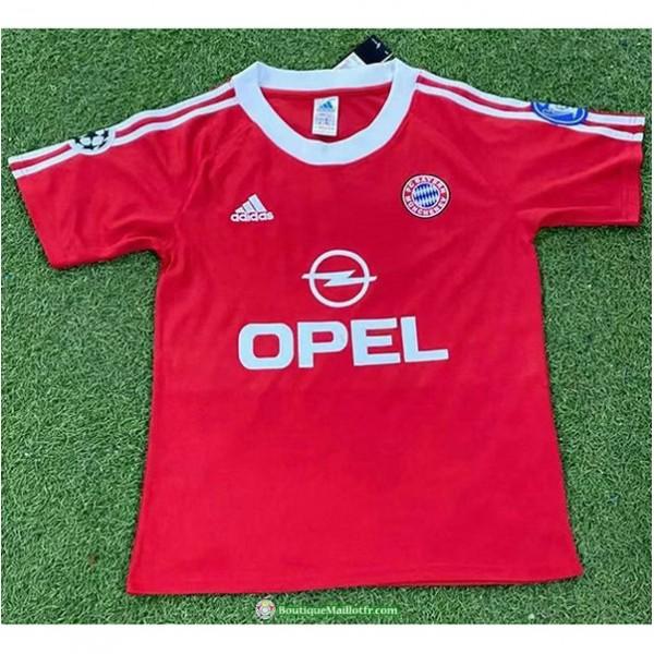 Maillot Bayern Munich Rétro 2001 Uefa Champions L...