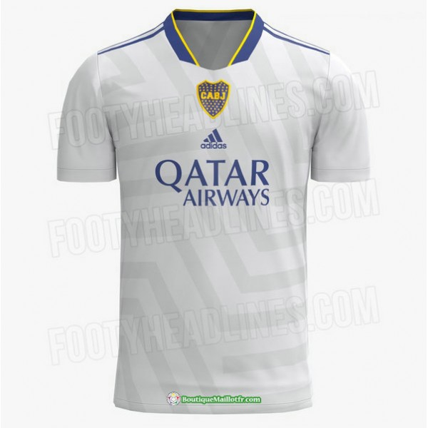 Maillot Boca Juniors 2021 2022 Exterieur Blanc