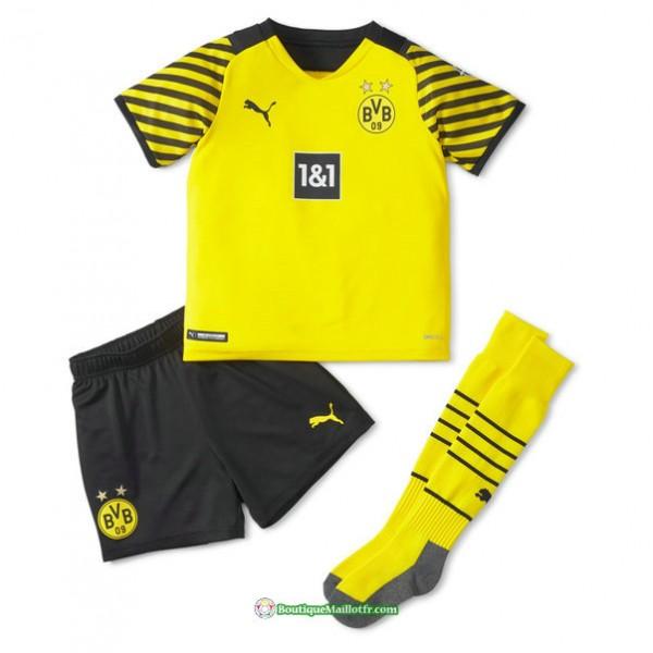 Maillot Borussia Dortmund Enfant 2021 2022 Domicil...