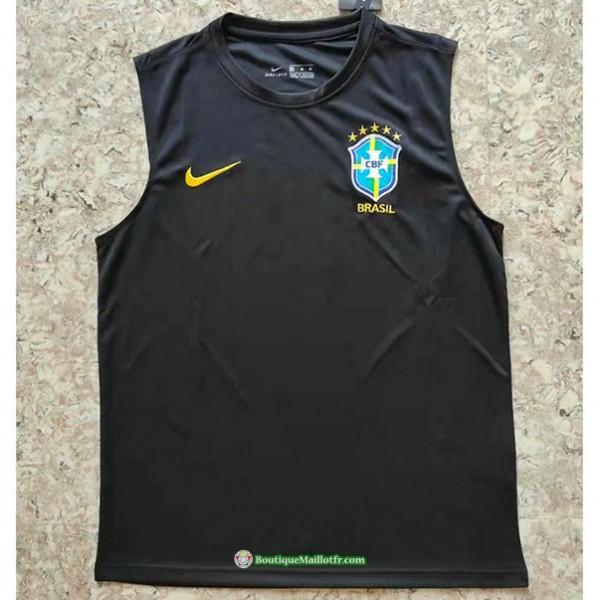 Maillot Brésil Vest 2021 2022 Noir