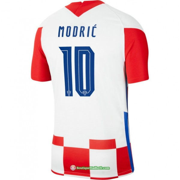 Maillot Croatie Domicile Modric 10 Euro 2020