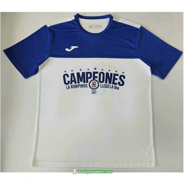 Maillot Cruz Azul 2021 2022 Champion Edition