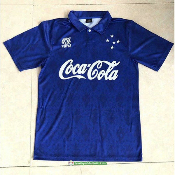 Maillot Cruzeiro Rétro 1993 94 Domicile