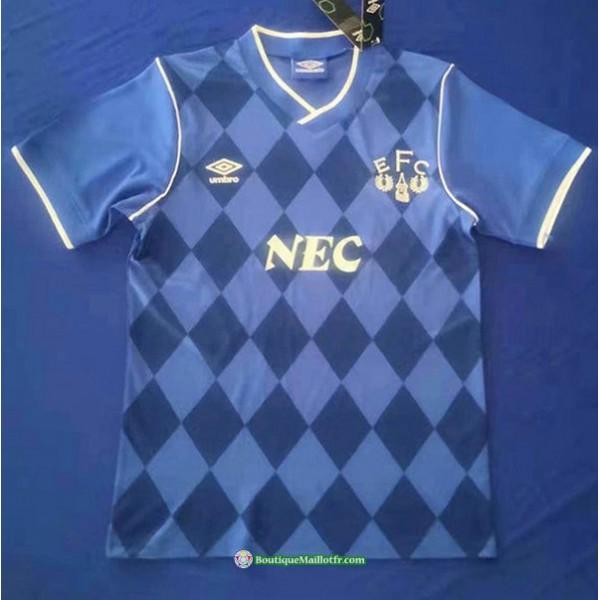 Maillot Everton Rétro 1986 87 Domicile