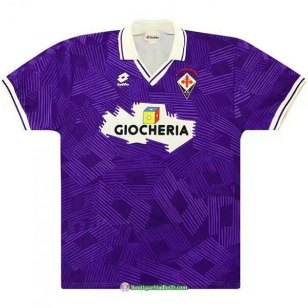 Maillot Fiorentina Rétro 1991 92 Domicile