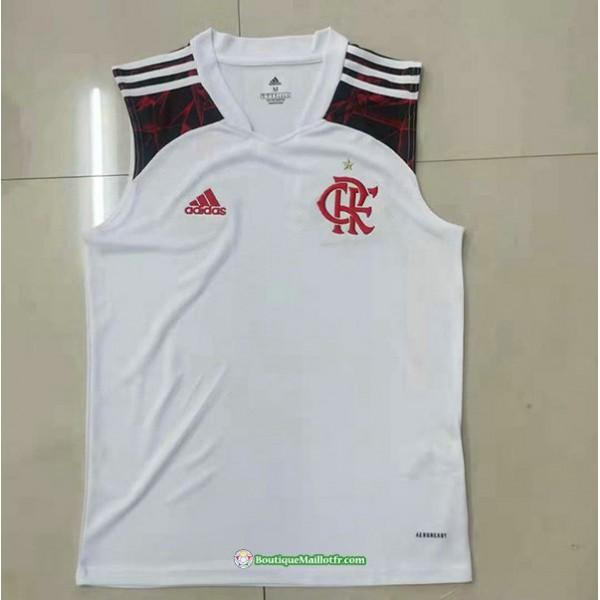 Maillot Flamengo Vest 2021 2022 Exterieur Blanc