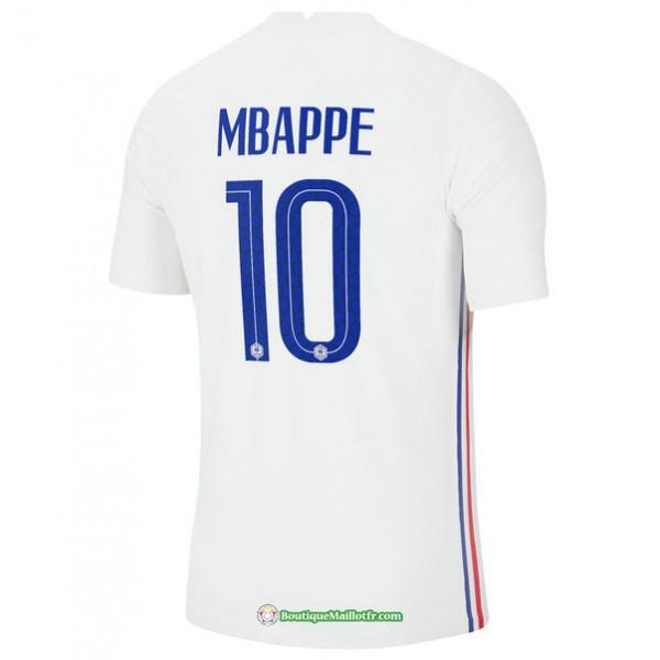 Maillot France Exterieur Mbappe 10 Euro 2020