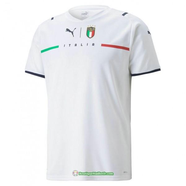 Maillot Italie 2021 2022 Exterieur Blanc