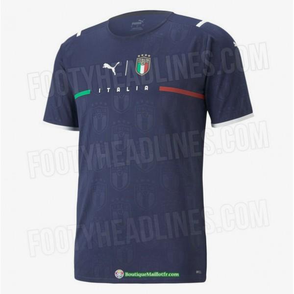 Maillot Italie 2021 2022 Gardien De But Bleu