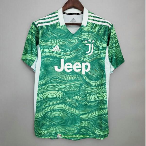 Maillot Juventus 2021 2022 Gardien De But Vert