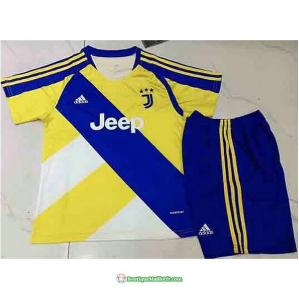 Maillot Juventus Enfant 2021 2022 Jaune