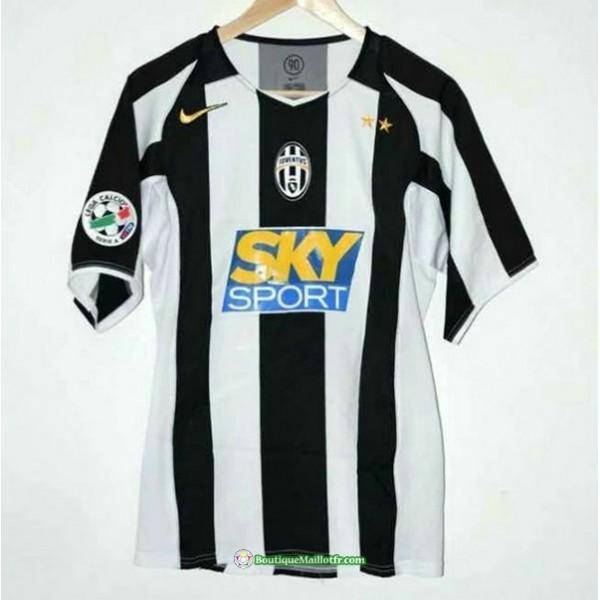 Maillot Juventus Rétro 2004 05 Domicile