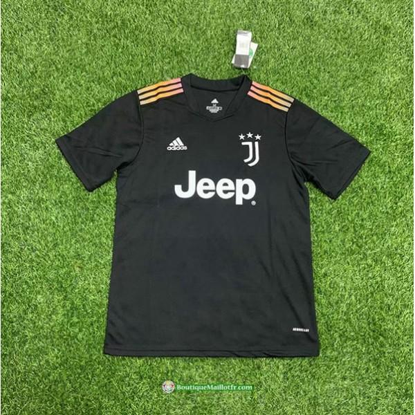 Maillot Juventus Jeep 2021 2022 Training Noir