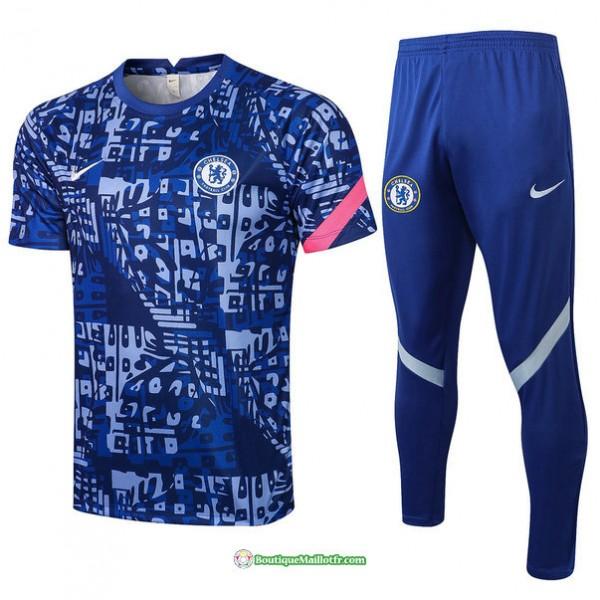 Maillot Kit Entraînement Chelsea 2021 2022 Traini...