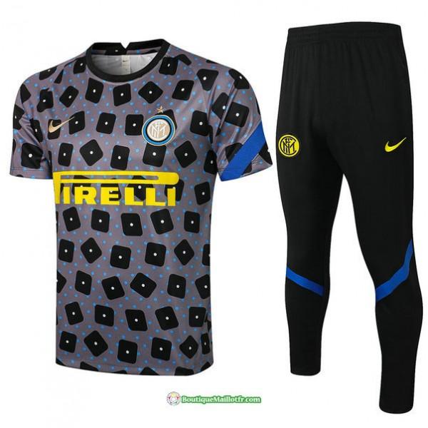 Maillot Kit Entraînement Inter Milan 2021 2022 Tr...