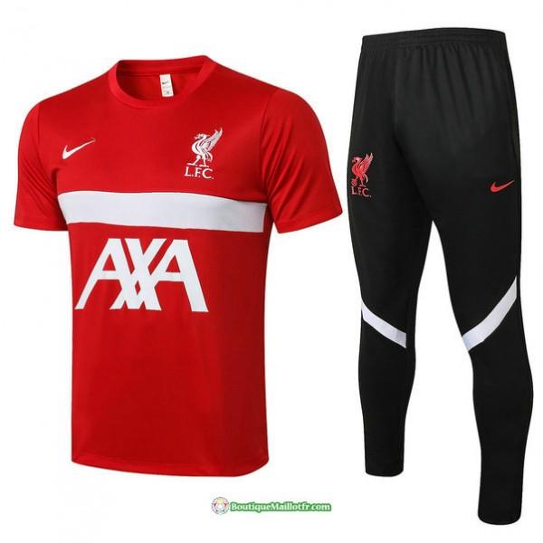 Maillot Kit Entraînement Liverpool 2021 2022 Trai...