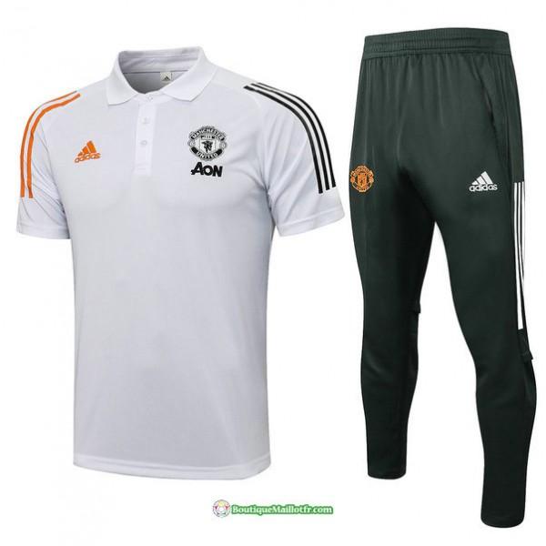 Maillot Kit Entraînement Polo Manchester United 2...