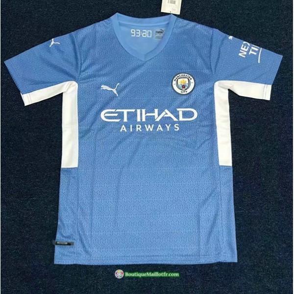 Maillot Manchester City 2021 2022 Domicile Bleu