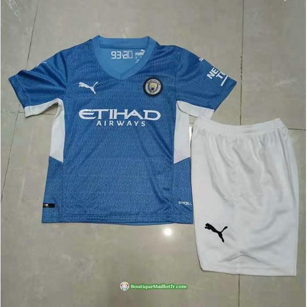Maillot Manchester City Enfant 2021 2022 Domicile