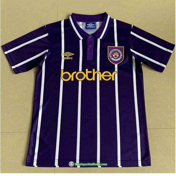 Maillot Manchester City Rétro 1993 Exterieur