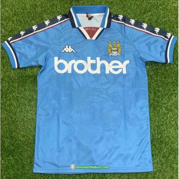Maillot Manchester City Rétro 1998 99 Domicile