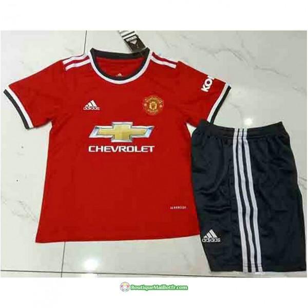 Maillot Manchester United Enfant 2021 2022 Domicil...