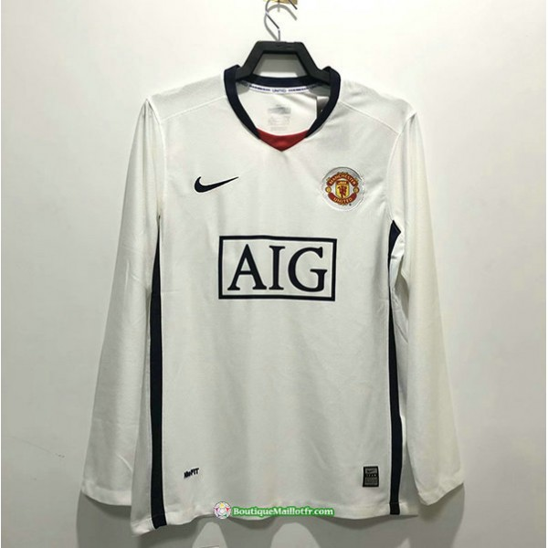 Maillot Manchester United Rétro 2009 Exterieur Ma...