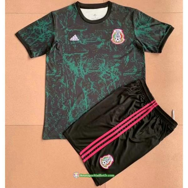 Maillot Mexique Enfant 2021 2022 Training Vert