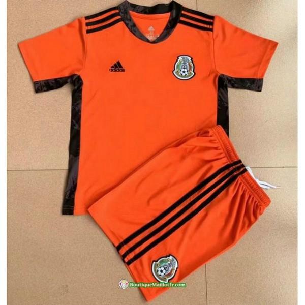 Maillot Mexique Enfant 2021 2022 Gardien De But Or...