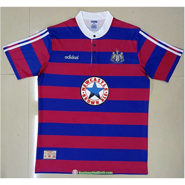 Maillot Newcastle United Rétro 1995 96 Domicile