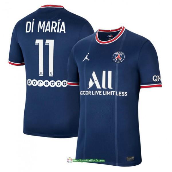 Maillot Psg 2021 2022 Domicile Di María 11