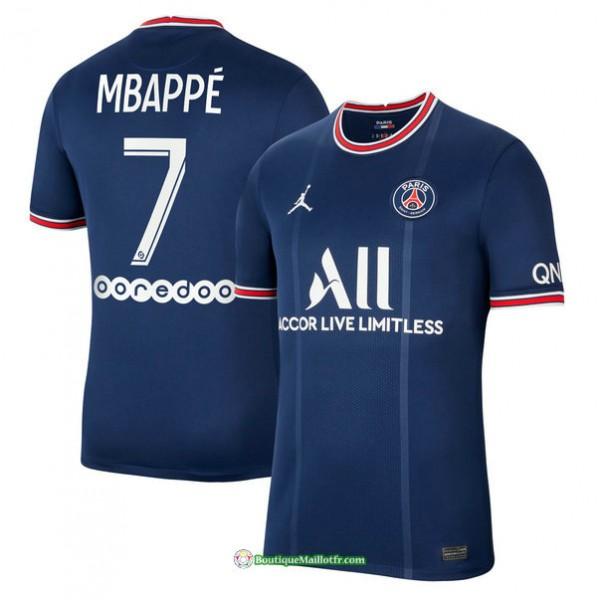 Maillot Psg 2021 2022 Domicile Mbappé 7