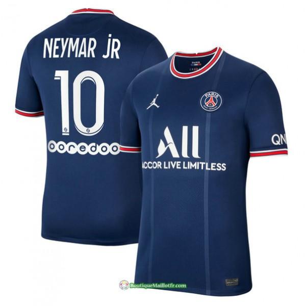 Maillot Psg 2021 2022 Domicile Neymar Jr 10