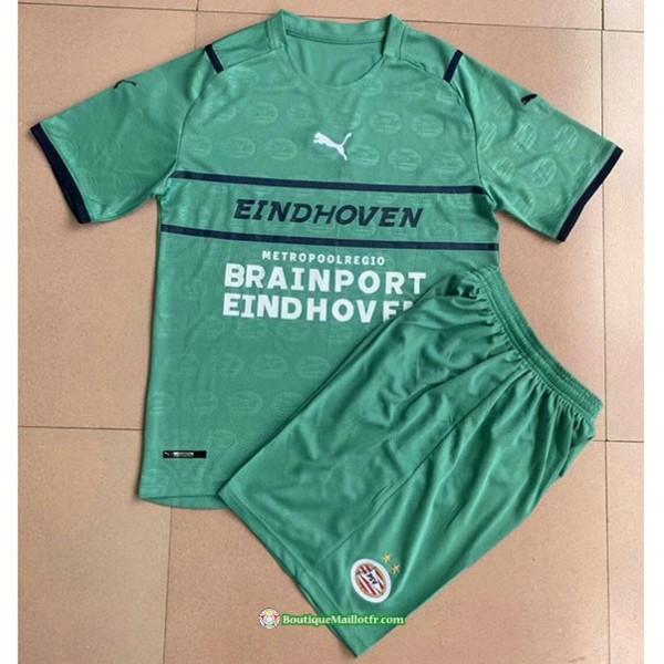 Maillot Psv Eindhoven Enfant 2021 2022 Vert