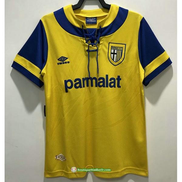 Maillot Parme Calcio Rétro 1993 95 Jaune