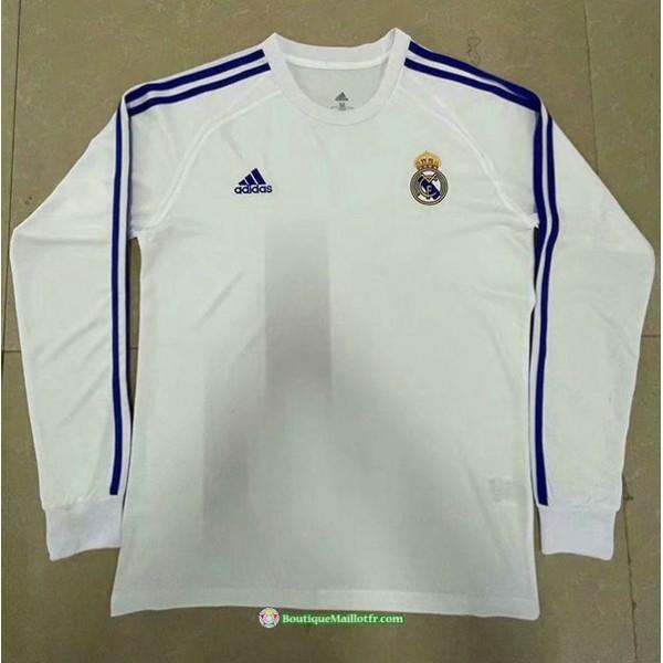 Maillot Real Madrid 2021 2022 Manche Longue Blanc