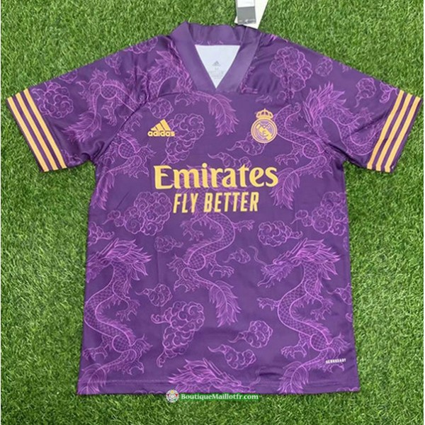 Maillot Real Madrid 2021 2022 Pourpre