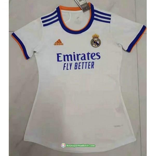 Maillot Real Madrid Femme 2021 2022 Domicile