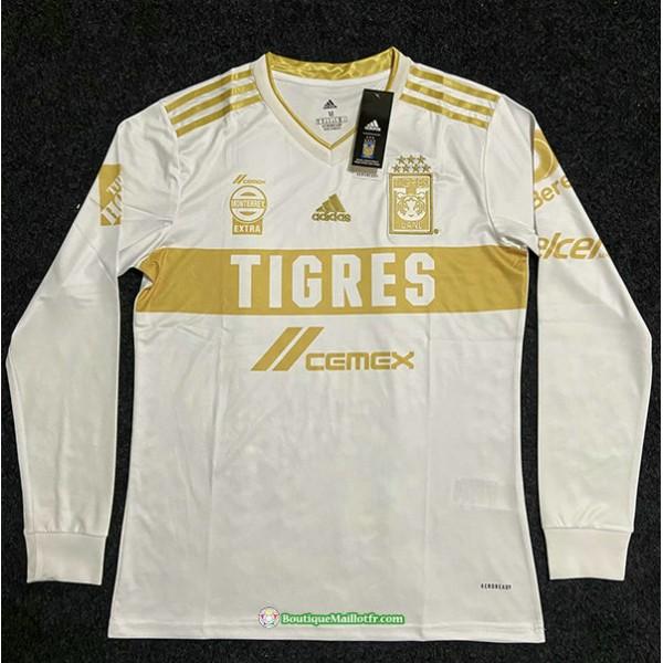 Maillot Tiger 2021 2022 Manche Longue Blanc